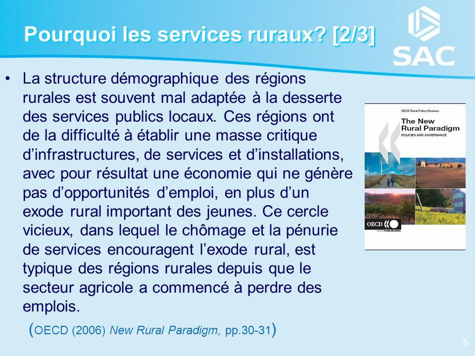Pourquoi les services ruraux [2/3]